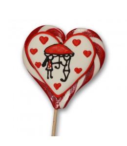 Влюбленные зонтик