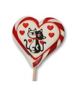 Котята сердце белое