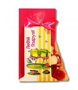 """Желейные конфеты """"Любимой подруге"""""""